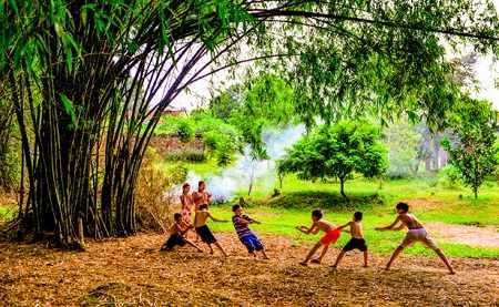 ta cay tre lop 7 - Tả cây tre Việt Nam lớp 7