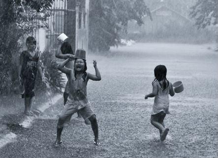 Tả cơn mưa rào lớp 6
