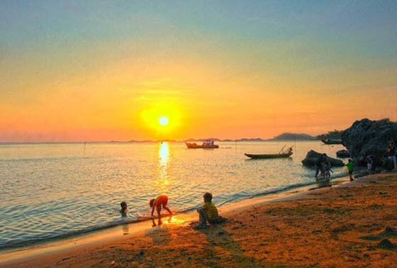 ta canh bien vao buoi sang som - Tả cảnh biển vào buổi sáng