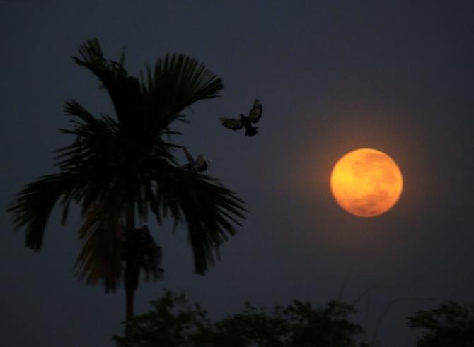 Tả cảnh đêm trăng đẹp