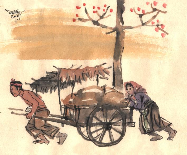 Phân tích nhân vật Tràng trong Vợ nhặt của Kim Lân