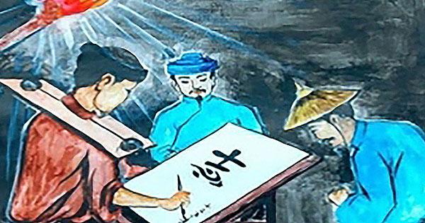 """Phân tích thái độ của nhân vật Huấn Cao đối với viên quản ngục trong tác phẩm """"Chữ người tử tù"""" của Nguyễn Tuân – Bài tập làm văn số 5 lớp 11"""